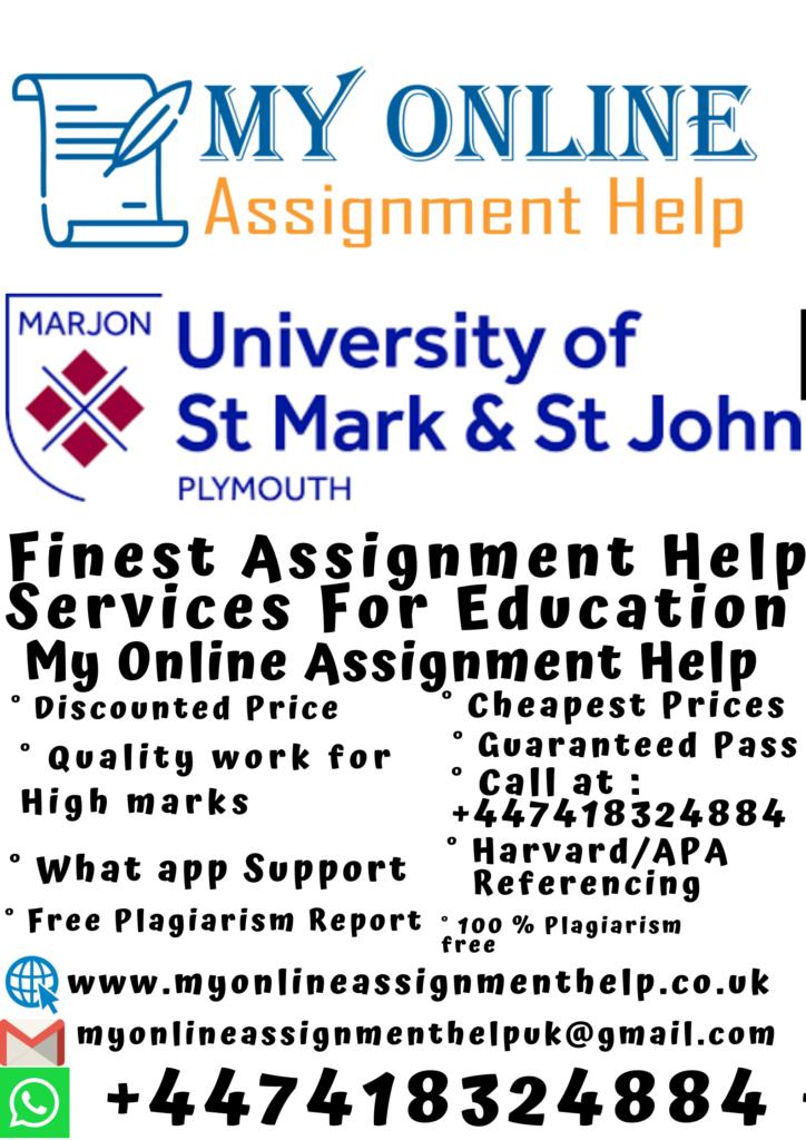 University Of St Mark And St John